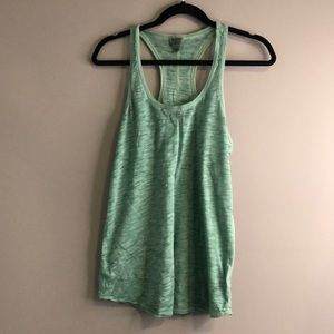 Mossimo green activewear top